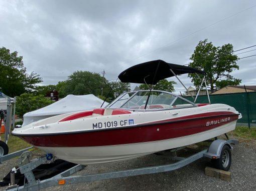 19′ 2012 Bayliner 185 Bow Rider